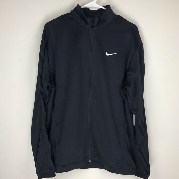 Nike Other - Nike GOLF Therma-Fit Black Full Zip Up Jacket